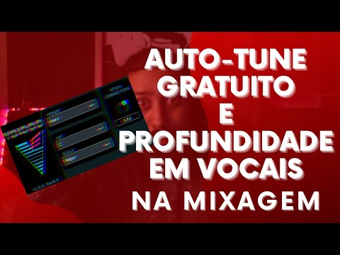Auto-Tune Gratuito e Profundidade em Vocais na Mixagem