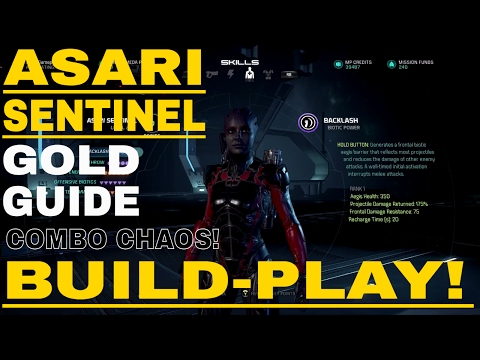 Mass Effect Andromeda Best Leveling Build