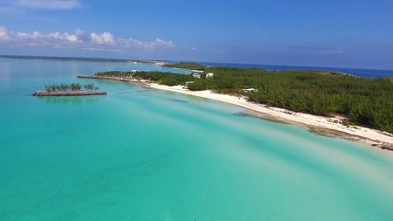 Gaulding Cay Beach Eleuthera Bahamas Drone