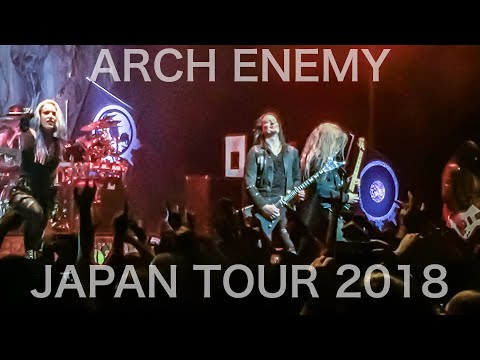 ARCH ENEMY JAPAN TOUR 2018 @EX THEATER ROPPONGI (Tokyo)