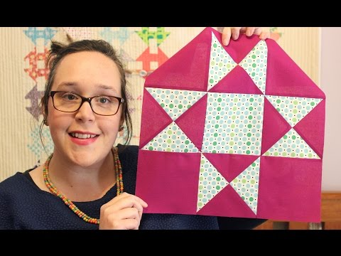 TUTORIAL: Ohio Star Block!