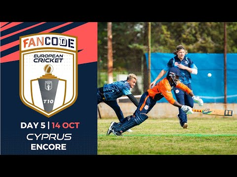 🔴 FanCode European Cricket T10 Cyprus Encore, 2021 | Day 5 | T10 Live Cricket