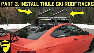 thule ski snowboard racks