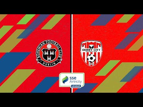 Premier Division GW13: Bohemians 2-1 Derry City
