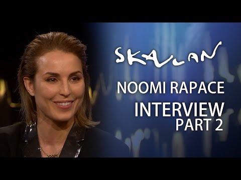 Noomi Rapace English Subtitles Jag hatade att vara dålig på grejer