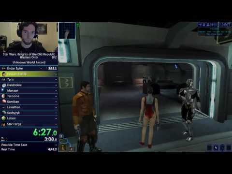 SW: KotOR Blasters Only in 1:33:23