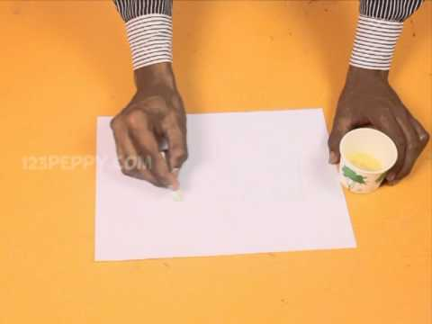 how to make an invisible ink youtube. Black Bedroom Furniture Sets. Home Design Ideas