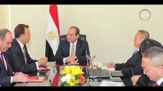 الأخبار - السيسي يوجه بالإنتهاء من مشروع القطار الكهربائي بين مدينة السلام والعاصمة الإدارية