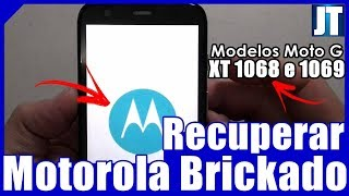 (100% Resolvido!!!) Como Recuperar MOTOROLA BRICKADO/TELA TRAVADA (TODOS OS MODELOS)
