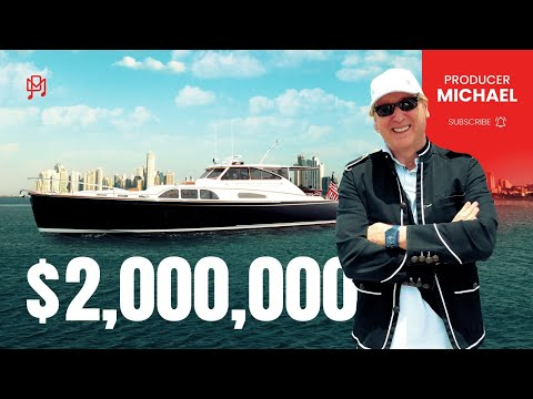 $2,000,000 JAMES BOND YACHT WITH 2,600 HORSEPOWER!