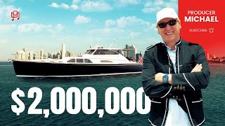 $2,000,000 JAMES BOND YACHT WITH 2,600 HORSEPOWER!