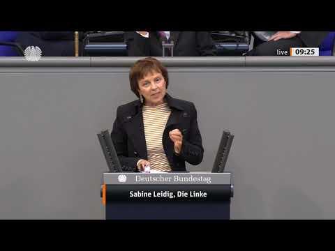 Rede von Sabine Leidig am 11. September 2020 im Deutschen Bundestag zum Thema Investitionen beschleunigen?  Eisenbahn ausbauen – Autobahnneubau stoppen!