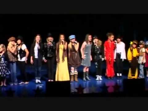 "The Cactus Kids sing ""We Are The World"" MJ Tribute Recital 2009"