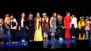 """Video The Cactus Kids sing """"We Are The World"""" MJ Tribute Recital 2009 download MP3, 3GP, MP4, WEBM, AVI, FLV Agustus 2017"""