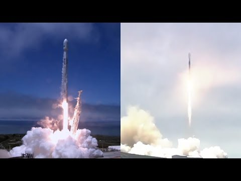SpaceX GRACE-FO/Iridium-6 Mission - Falcon 9 launches GRACE-FO and Iridium-6