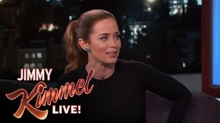 Emily Blunt Saw John Krasinski's Play Multiple Times
