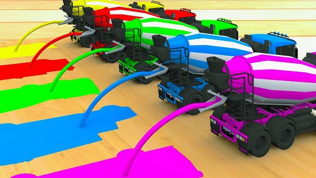 รถแม็คโครรถแม็คโคร - รถขุดดิน รถดั้ม รถโม่ปูน - เพลงอนุบาล เพลงสำหรับเด็ก