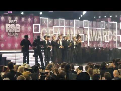 BTS Presenting Best R&B Album To H E R At 61st GRAMMYs Awards