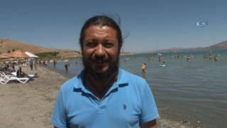 Sıcaklar, Denizi Olmayan Kentte Hazar Gölü'nü Doldurdu