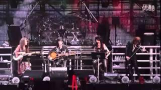 X JAPAN - Forever Love 世界巡回20100815.flv