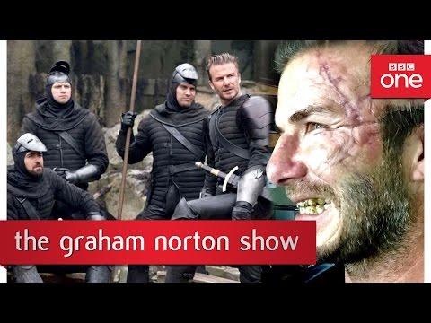David Beckham's cameo in King Arthur – The Graham Norton Show 2017: Episode 6 Preview – BBC One