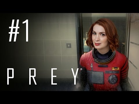 Felicia Day plays Prey! A TINY BIT!