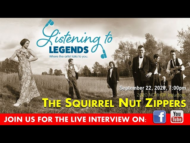 Listening to Legends - The Squirrel Nut Zippers