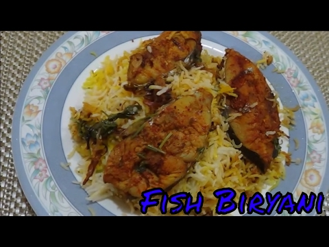 Fish Biryani - Very easy and quick recipe