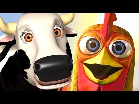 МИКС ПЕСЕН НА ФЕРМЕ У ЗЕНОНА - детские популярные песни - Простые вкусные домашние видео рецепты блюд
