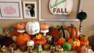 Dollar Tree Sign Makeover - Welcome Fall