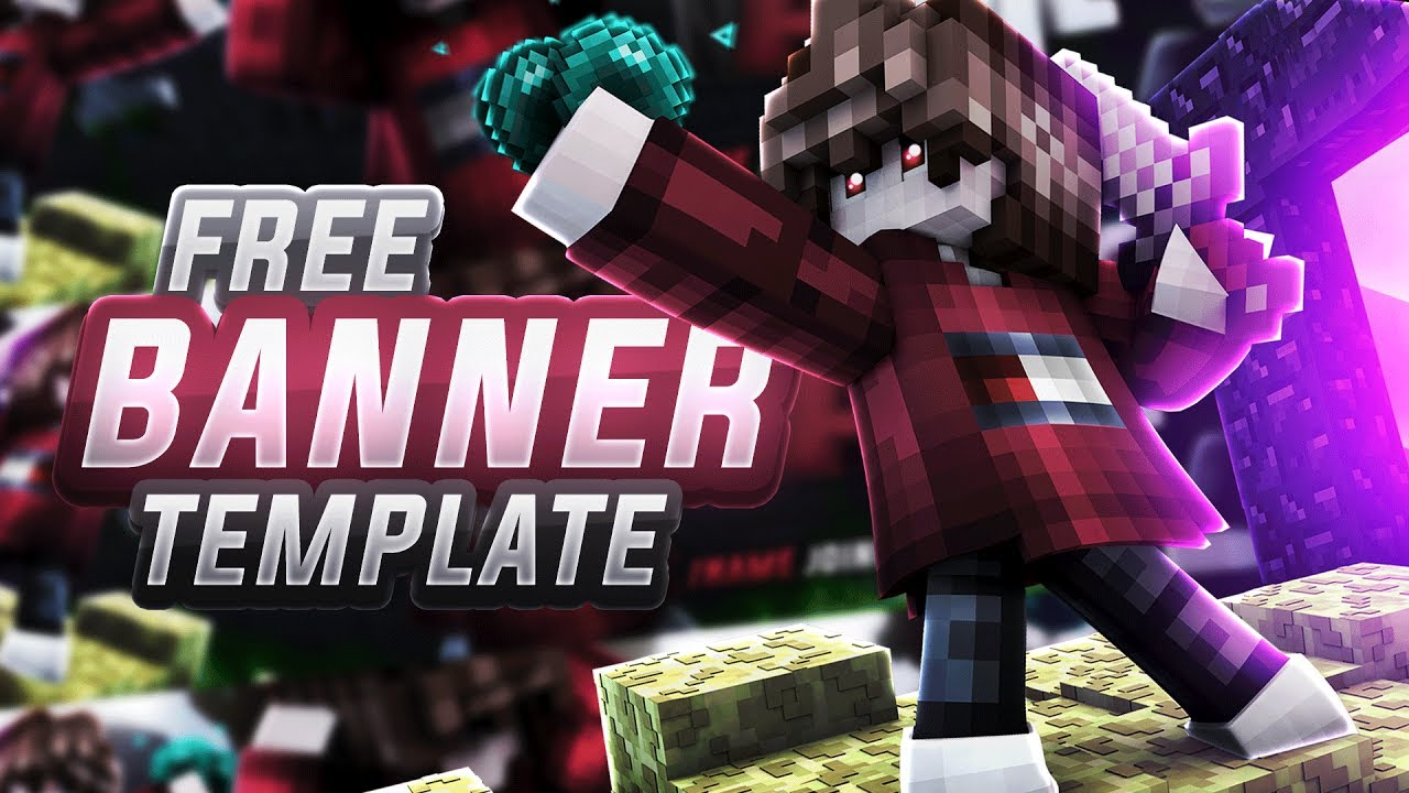 Free Minecraft Youtube Banners With Templates