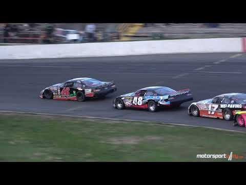60 Lap Late Model Feature, Sunset Speedway. May 12, 2018