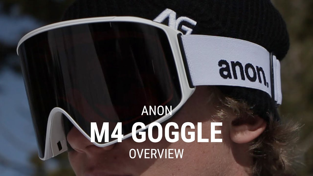 9d0ac1a5386d Anon M4 2019 Snowboard Goggle Overview - Tactics.com - YouTube