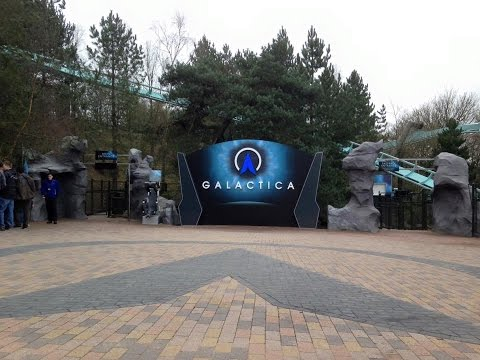 Galactica Alton Towers Opening Day Vlog March 2016