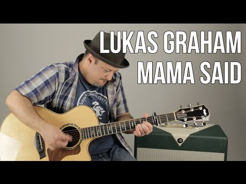 Lukas Graham - Mama Said - How to Play on Acoustic Guitar - Chords, Rhythm, Tutorial