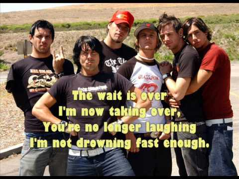 Reptilia LYRICS (cover) - Lostprophets