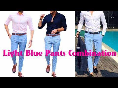 Matching pants blue shirt light 5 Best
