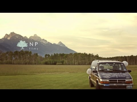 Jackson Hole Wyoming Wedding Video Preview || Jenny and Catesby