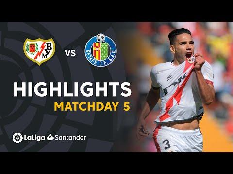 Vallecano Getafe Goals And Highlights