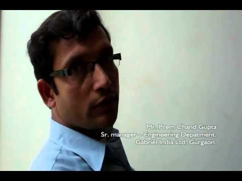 LightPipe - Solar Lighting System at Gabriel India Ltd, Gurgaon