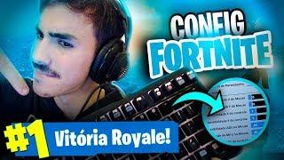AS CONFIGURAÇÕES QUE ME AJUDARAM A VIRAR PRO! Fortnite: Battle Royale