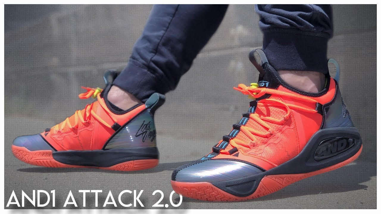 exclusive deals official new images of AND1 Attack 2.0
