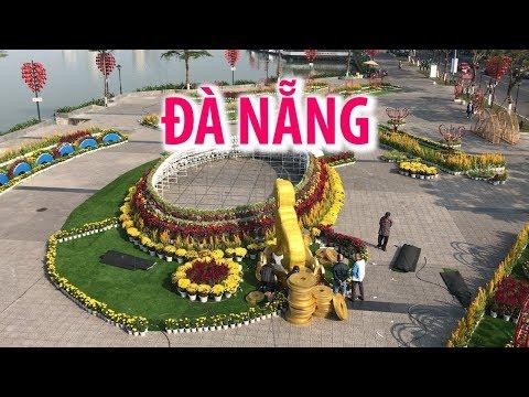Thành phố biển Đà Nẵng rực rỡ hoa đón xuân Mậu Tuất 2018