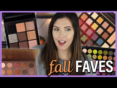DRUGSTORE TO HIGH END | FAVE FALL EYESHADOW PALETTES thumbnail