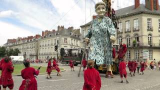 Royal De Luxe in Nantes June 2014 with grandma