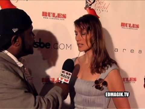 Nancy LaScala at  Rules Movie Premiere