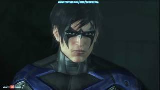 Batman Arkham City Nightwing DLC Gameplay HD