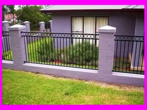 Wrought Iron Fencing Designs - YouTube