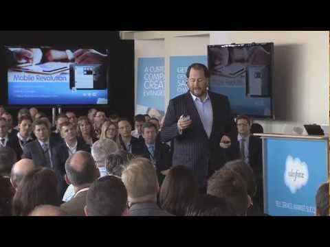 CEO Marc Benioff Says Chatter Will Become Primary Interface For Salesforce, A Bold Yet Risky Move