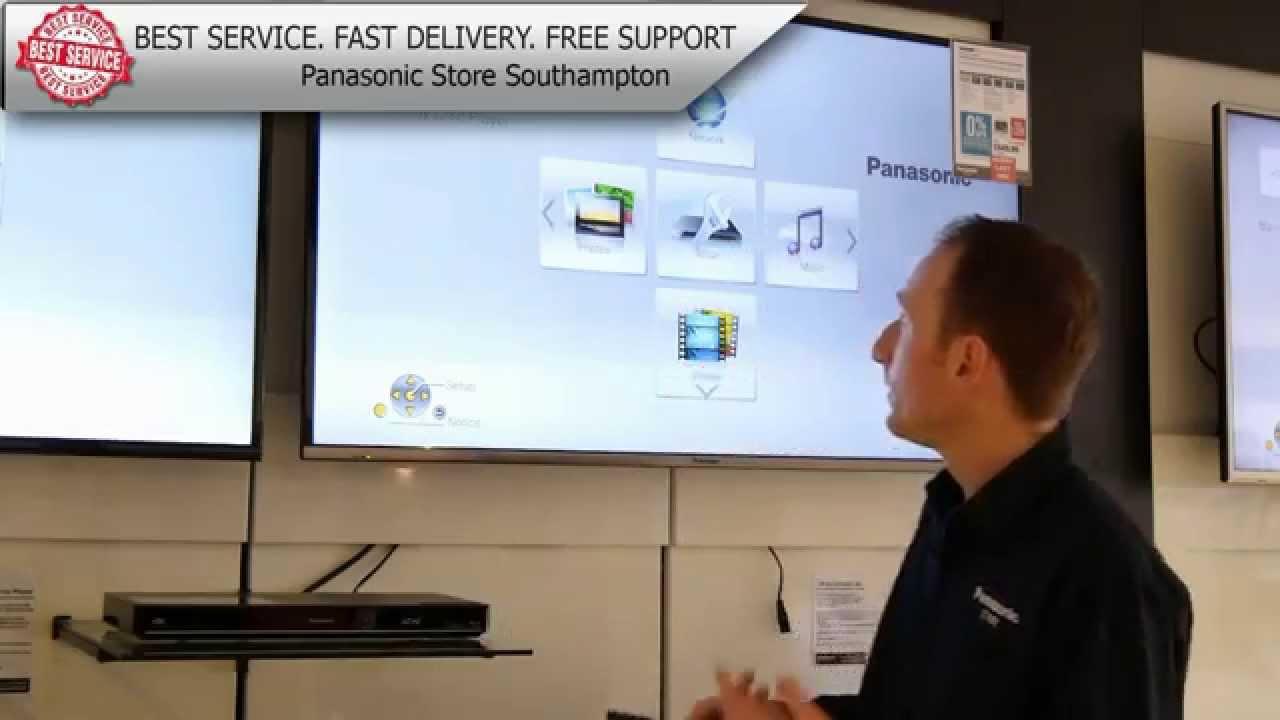Panasonic DMP-BDT370GN Blu-ray Player Update